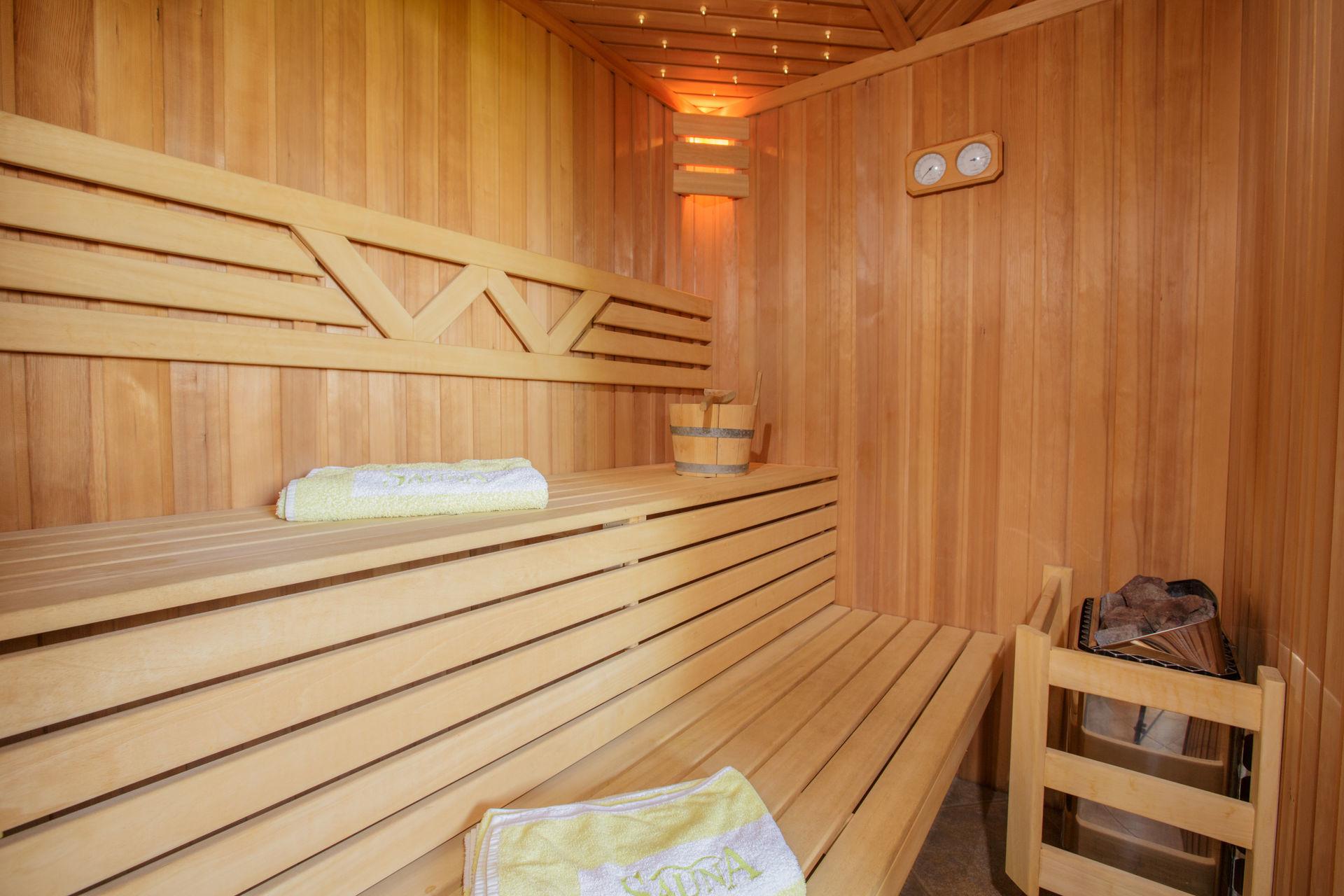 Sauna met sterrenhemel - Klaproos