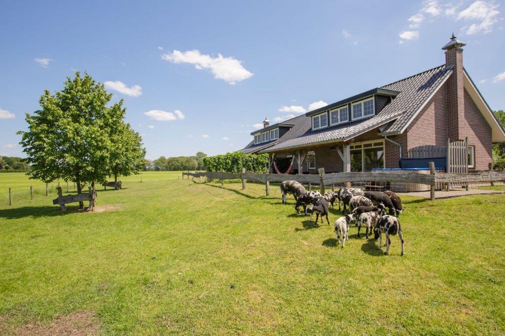 Platteland - Huisje met jacuzzi in Gelderland